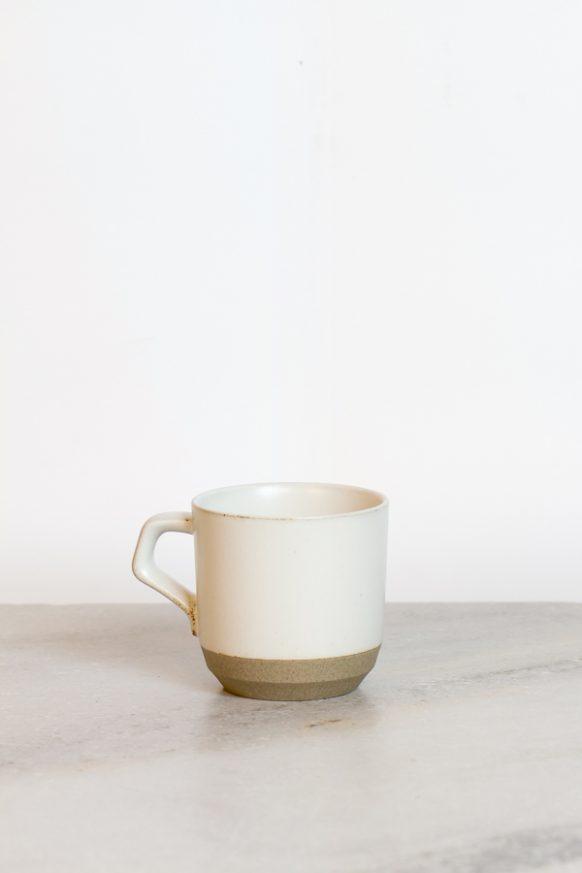 White Ceramic Lab Cup