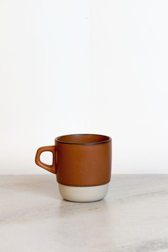 Orange Stacker Mug